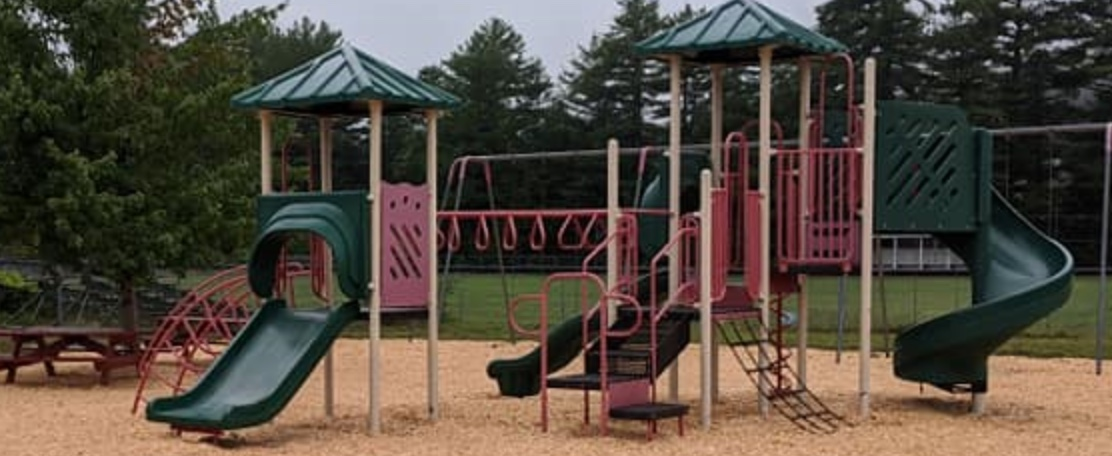 Friends of Ashby Playground are working on the Allen Field Playground