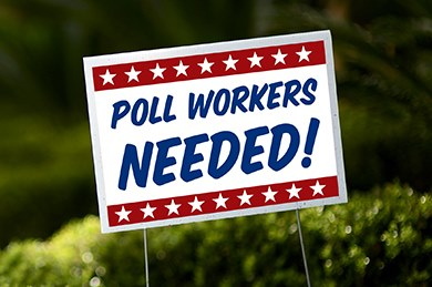 Upcoming Election Help Wanted