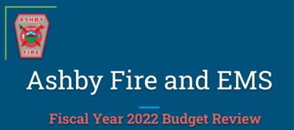 Fire Department Budget Review – FY22
