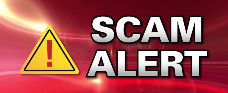 Announcement from TAYBS (Townsend Ashby Youth Baseball & Softball) – Scam Alert