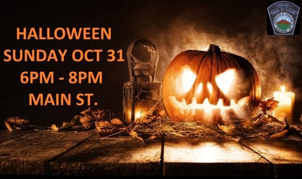 Halloween RETURNS! October 31, 6-8pm